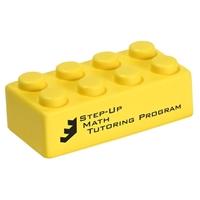 Custom Yellow Building Brick