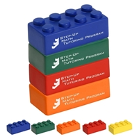 Picture of Custom Printed Building Block 4 Piece Set Stress Ball