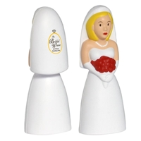 Picture of Custom Printed Bride Stress Ball