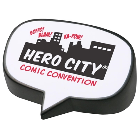 Picture of Custom Printed Caption Bubble Stress Ball