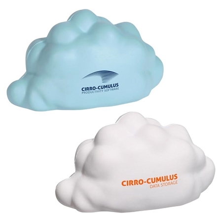 Picture of Custom Printed Cloud Stress Ball