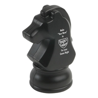 Picture of Custom Printed Knight Chess Piece Stress Ball