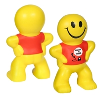 Picture of Custom Printed Captain Smiley Stress Ball