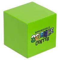 Custom printed Cube Stress Ball