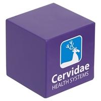 Branded Custom Cube Stress Ball