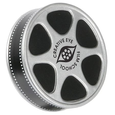 Custom Printed Film Reel Stress Ball