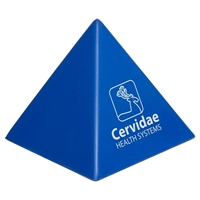 Picture of Custom Printed Pyramid Stress Ball