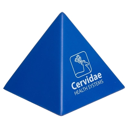 Custom Printed Pyramid Stress Ball