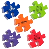 Picture of Custom Printed Puzzle Piece Stress Ball