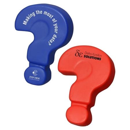 Custom Printed Question Mark Stress Ball