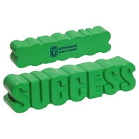 Picture of Custom Printed Success Word Stress Ball