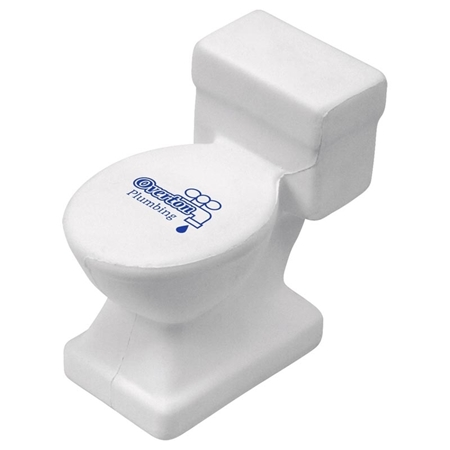 Picture of Custom Printed Toilet Stress Ball