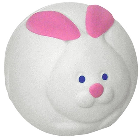 Promotional Bunny Rabbit Ball Stress Ball