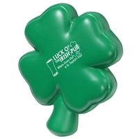 Picture of Custom Printed 4-Leaf Clover Stress Ball