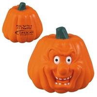 Promotional Maniacal Pumpkin Stress Ball