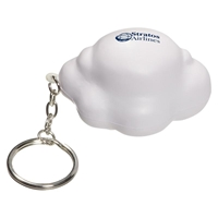 Picture of Custom Printed Cloud Key Chain Stress Ball