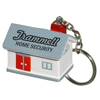 Picture of Custom Printed House Key Chain Stress Ball