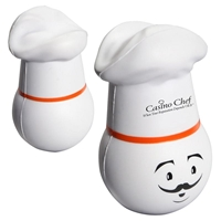 Picture of Custom Printed Chef Mad Cap Stress Ball