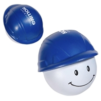 Picture of Custom Printed Hard Hat Mad Cap Stress Ball