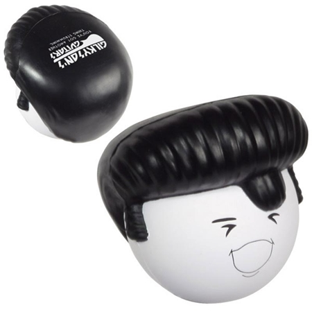 Picture of Custom Printed Rock N' Roll Mad Cap Stress Ball