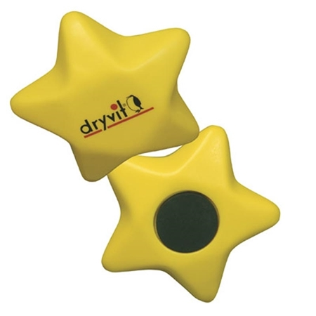 Picture of Custom Printed Star Magnet Stress Ball