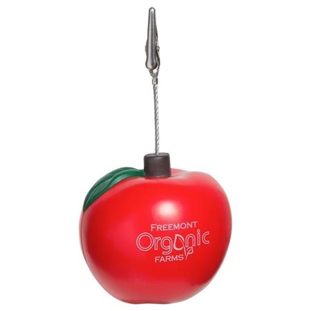 Custom Apple Memo Holder Stress Ball