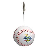 Picture of Custom Printed Baseball Memo Holder Stress Ball