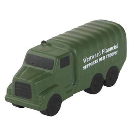 Custom Printed Military Truck Stress Ball