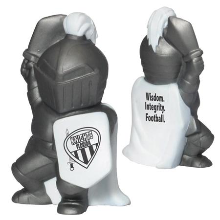 Promotional Knight Mascot Stress Ball