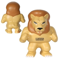 Picture of Custom Printed Lion Mascot Stress Ball