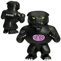 Promotional Panther Mascot Stress Ball