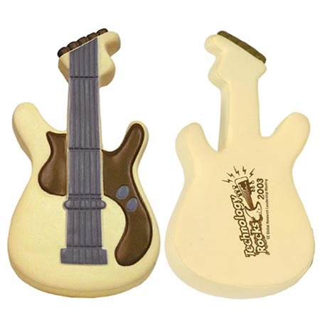 Picture of Custom Printed Electric Guitar Stress Ball