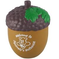 Picture of Custom Printed Acorn Stress Ball