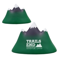Picture of Custom Printed Mountain Peak Stress Ball