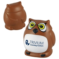 Picture of Custom Printed Owl Stress Ball