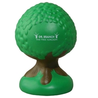 Picture of Custom Printed Tree Stress Ball