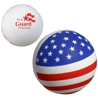 Picture of Custom Printed Patriotic Stress Ball