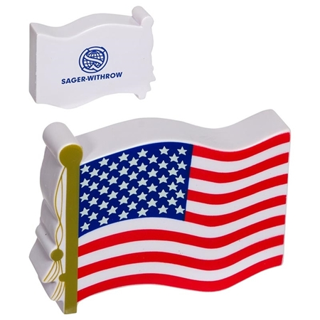 Promotional US Flag Stress Ball