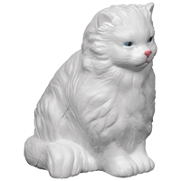 Imprinted Persian Cat Stress Ball