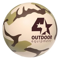 Picture of Custom Printed Camouflage Stress Ball
