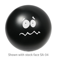 Picture of Custom Printed Emoticon Ball Stress Ball