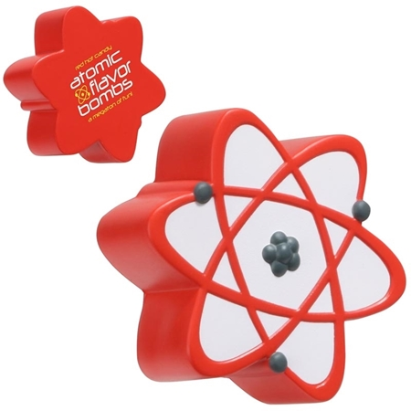 Picture of Custom Printed Atomic Symbol Stress Ball