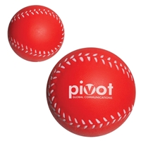Baseball Stress Ball with logo