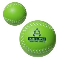 Branded Custom Baseball Stress Ball