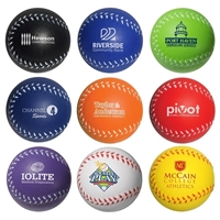 Picture of Custom Printed Baseball Stress Ball