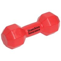 Branded Red Dumbbell Stress Ball