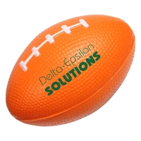 Picture of Custom Printed Small Football Stress Ball