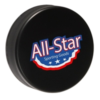 Picture of Custom Printed Hockey Puck Stress Ball