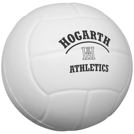 Picture of Custom Printed Volleyball Stress Ball