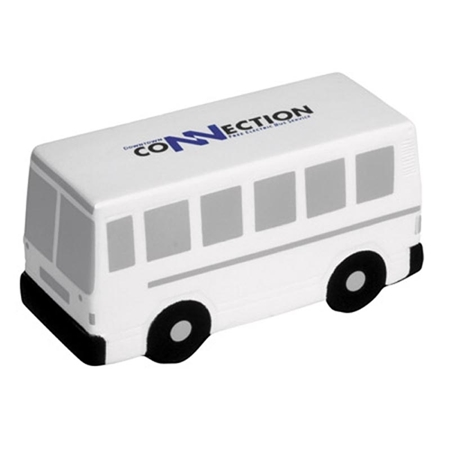 Picture of Custom Printed City Bus Stress Ball